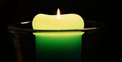 que significan las velas verdes
