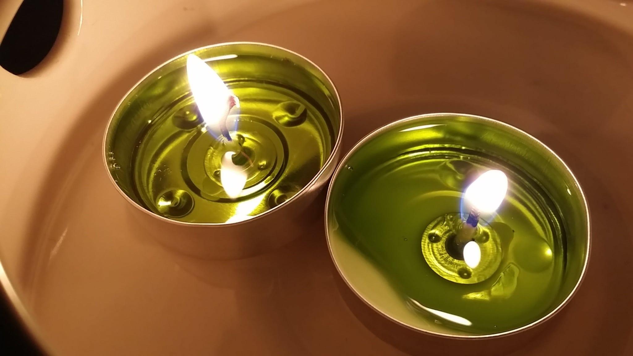 el significado de las velas verdes