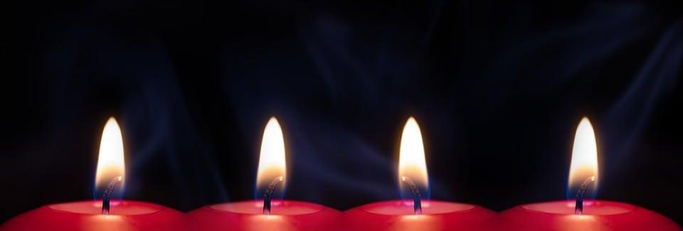 significado de las velas rojas