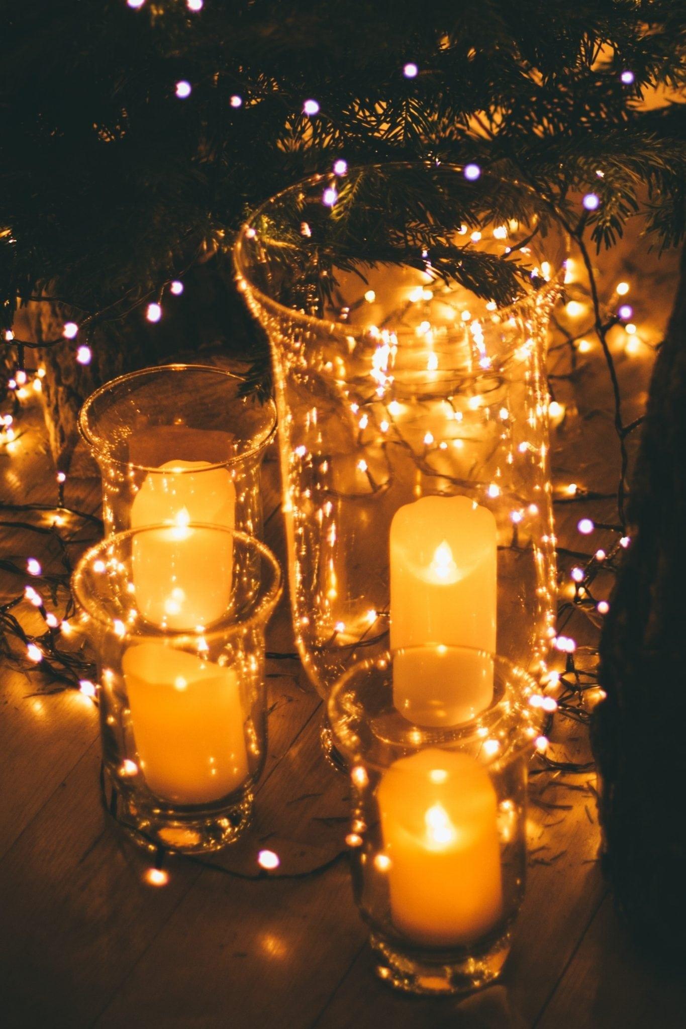 velas de led