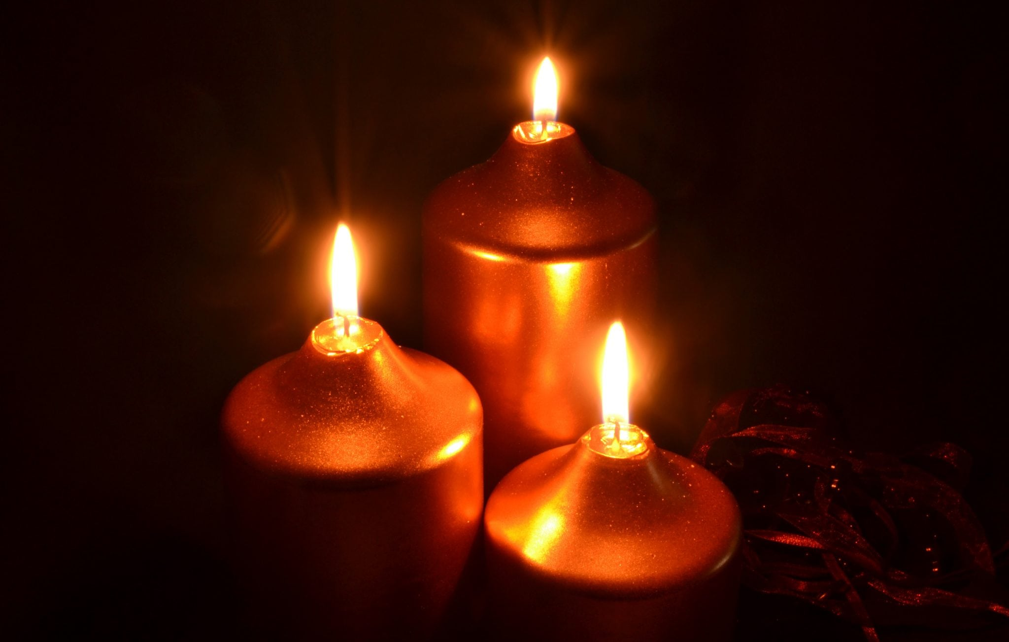 significado de las velas doradas