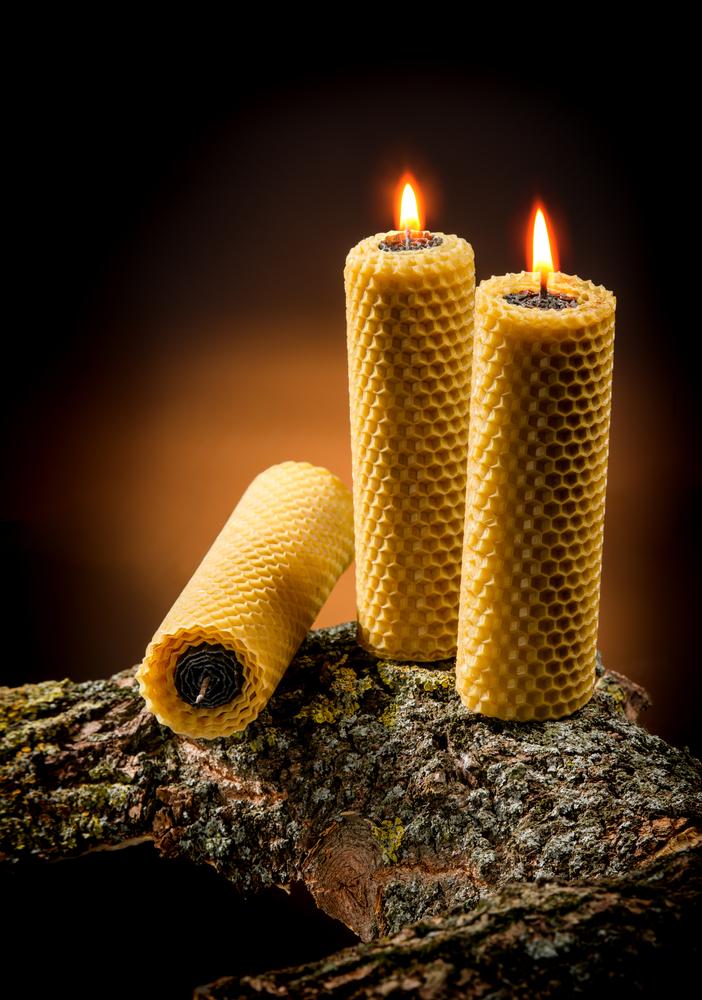 Ritual con velas de miel para purificar el cuerpo