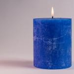 velas azules