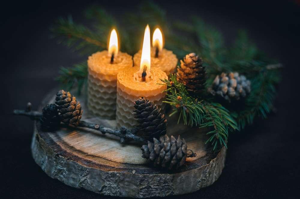 significado de las velas de cera de abeja