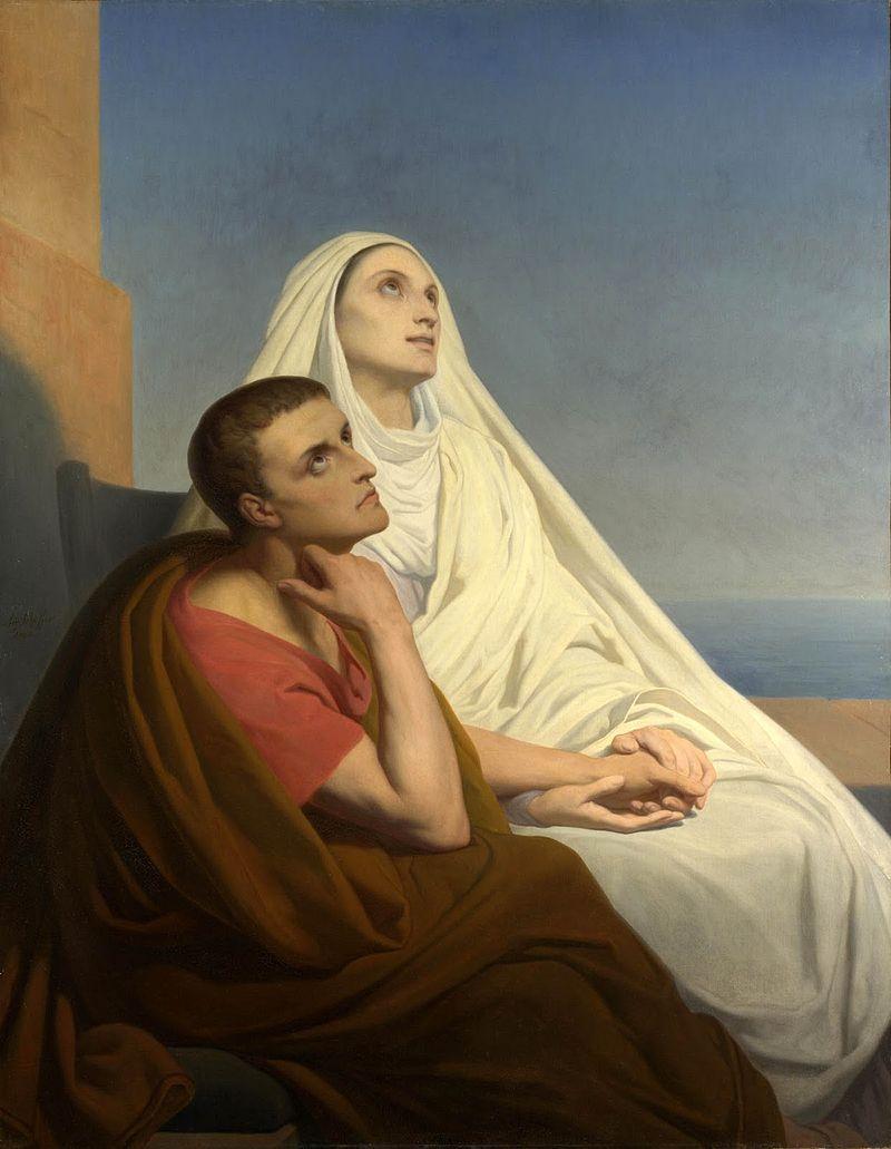 oracion a santa monica por los hijos