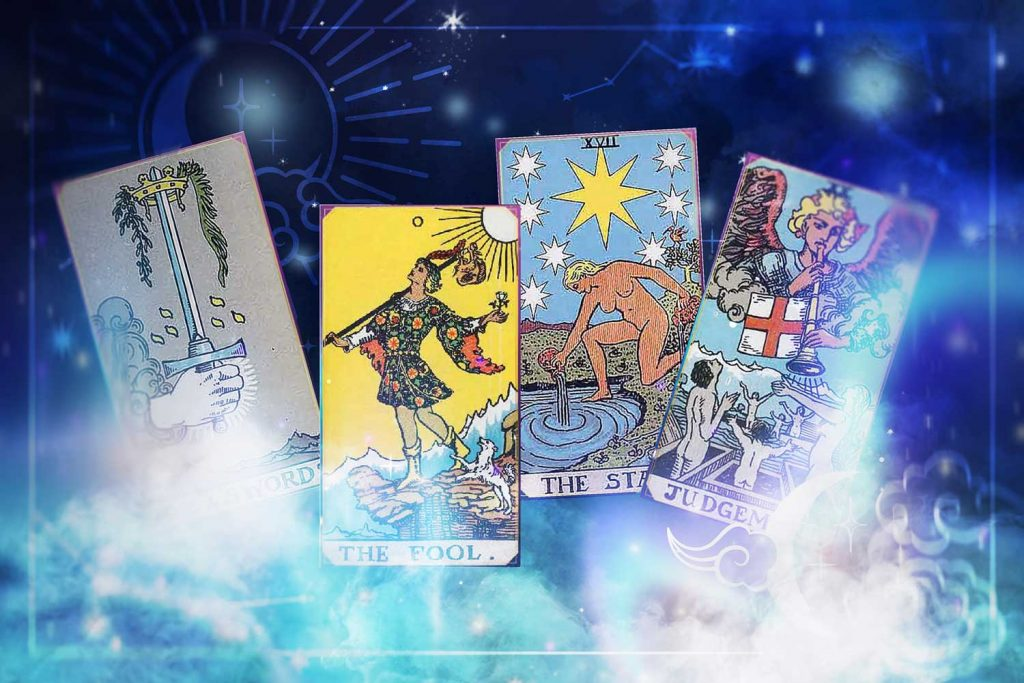 significados de las cartas del tarot, lista de significados de las cartas del tarot