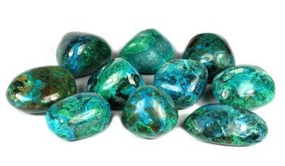 Piedras de crisocola azul para comprar