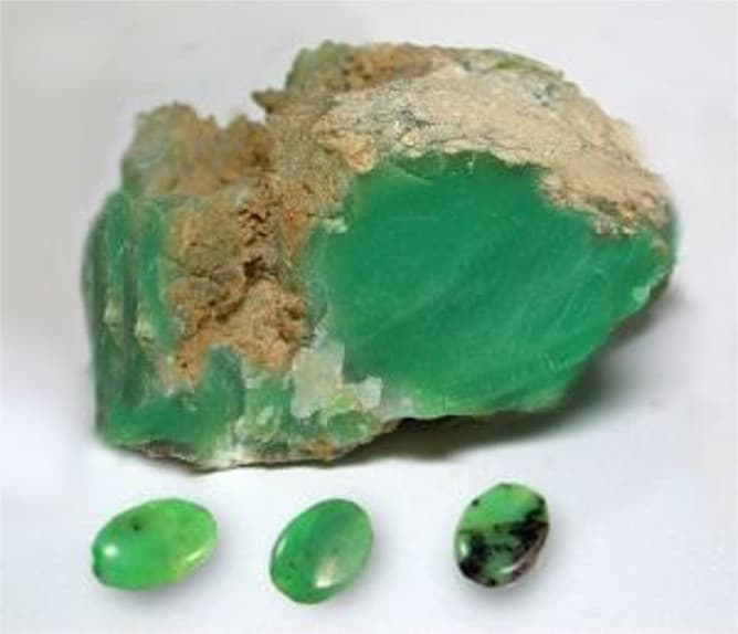 Quisoprasa verde oscuro